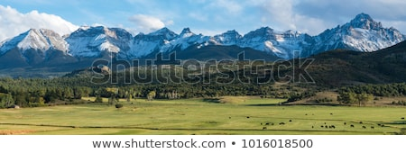 Stock photo: rocky mountain