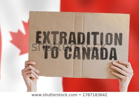 Canadian Jurisdiction Stock photo © AlphaBaby