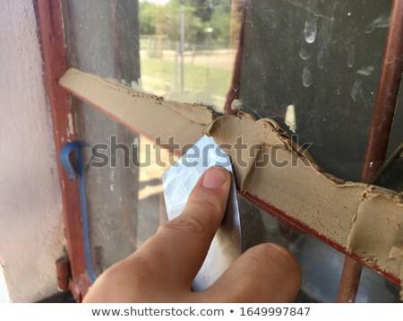 manos · herramientas · madera · bordo - foto stock © photography33