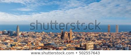 moderne · gebouwen · stad · centrum · kerk - stockfoto © vladacanon