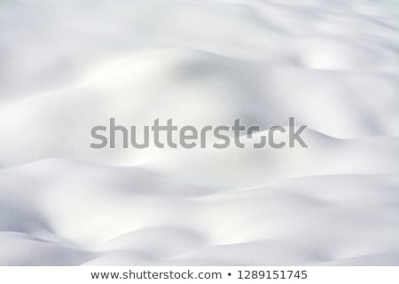 snow hillock background Stock photo © michey