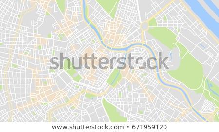auto · gps · navigatie · geïsoleerd · witte - stockfoto © redpixel