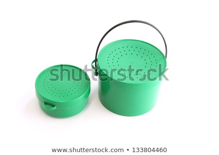 Two green tins with perforated lids Stock photo © photography33