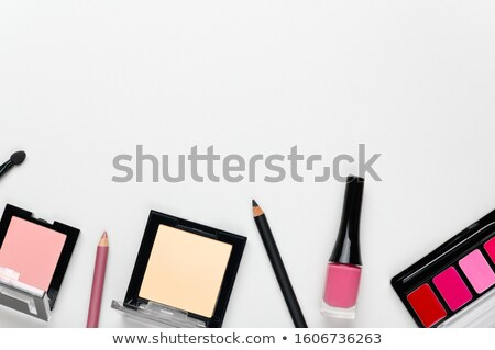 Lipstick Eye Shadow And Blusher Stock photo © stuartmiles