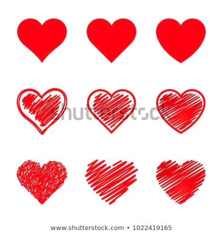 szeretet · madár · ajándék · doboz · vektor · ül - stock fotó © dece
