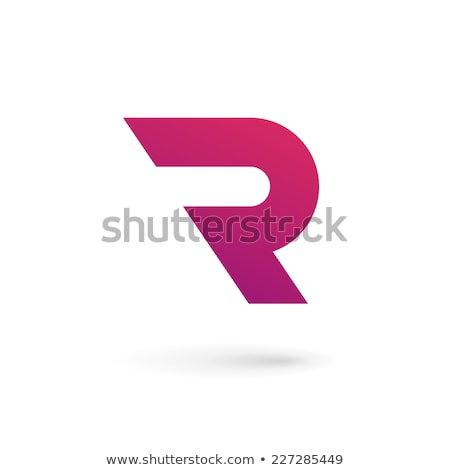 Glossy Icons for letter R stock photo © cidepix