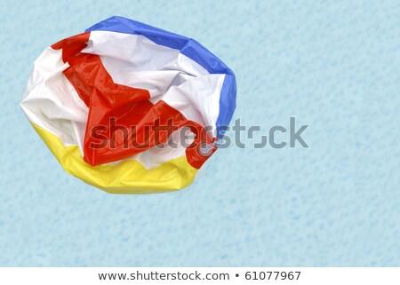 amarelo · piscina · bola · macro · tiro · espaço - foto stock © saje