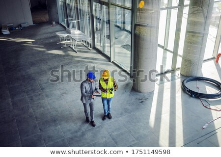 Building constultant on site Stock photo © photography33