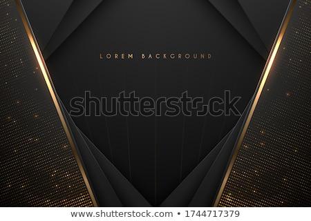 Dorado botón negocios ordenador diseno Foto stock © perysty