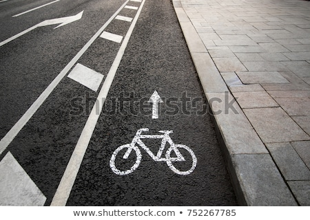 bike lane stock photo © mikdam