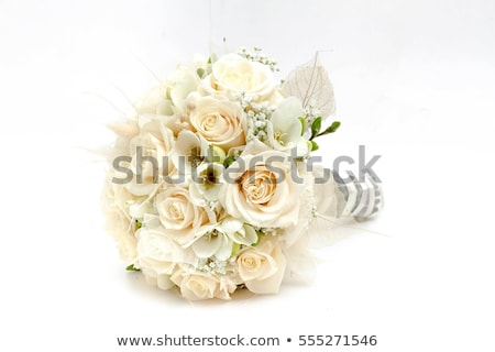Pretty pink roses in bridal bouquet stock photo © foto-fine-art