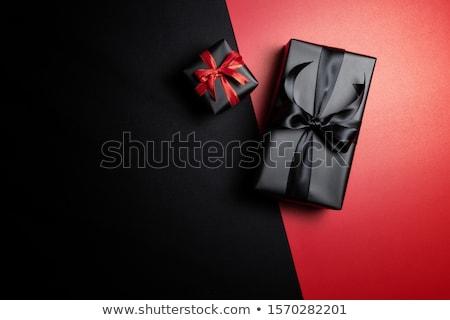 ajándékkártya · fényes · arany · íj · fényes · fémes - stock fotó © illustrart
