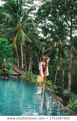 red swimsuit stock photo © ruslanomega