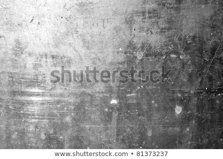 velho · enferrujado · superfície · metálica · amarelo · parede · abstrato - foto stock © imaster
