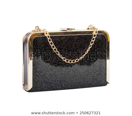 black clutch bag on white stock photo © ruslanomega