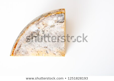 Piece of old cheese at the  market Stock photo © frank11