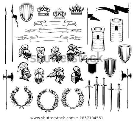 Armor knight. Set Stock photo © Silanti