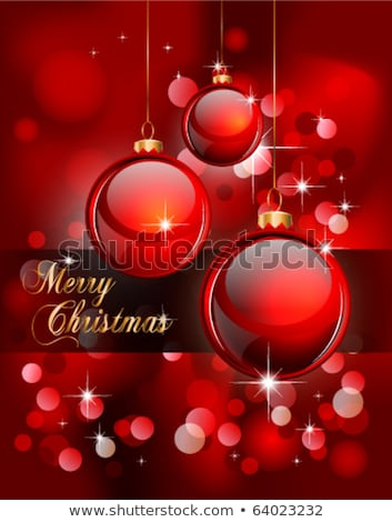 Merry Christmas Elegant Suggestive Background Stock photo © DavidArts