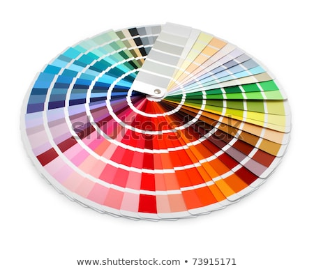 Multi color designer swatch palette guide chart spectrum  Stock photo © inxti
