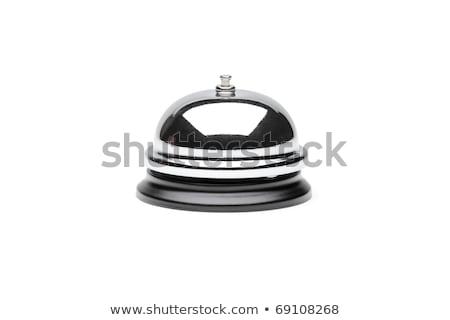 Service Bell on white background Stock photo © sidewaysdesign