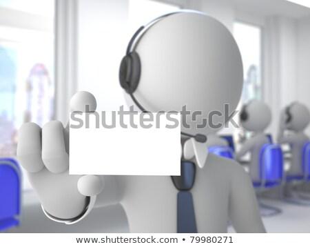 helpdesk · hotline · opérateur · centre · d'appel · Ouvrir · la - photo stock © dacasdo