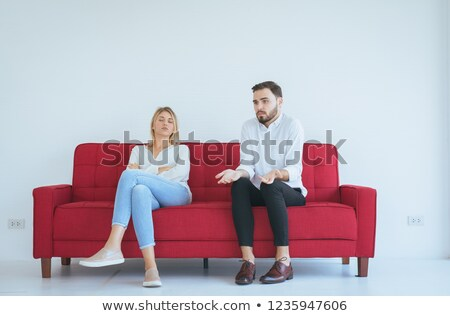 woman yells out worse Stock photo © Pasiphae