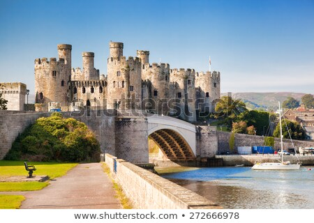 Conwy Castle  stock photo © ollietaylorphotograp
