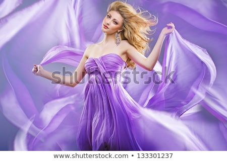Fine art photo of blonde beauty Stock photo © konradbak