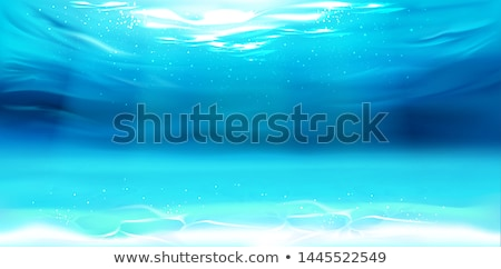 Underwater natural wallpaper. vector illustration Stock photo © carodi