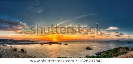ストックフォト: Cruise In Ibiza Island Mediterranean Sunrise