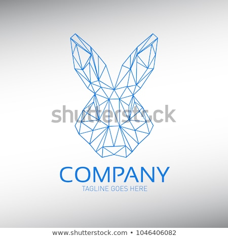 Rabbit or hare head vector illustration Stock photo © Hermione