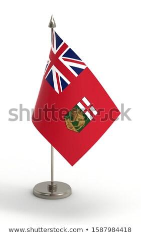 Miniature Flag of Manitoba Stock photo © bosphorus