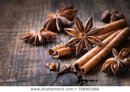 Star anice cannella cuoco sementi stick Foto d'archivio © M-studio