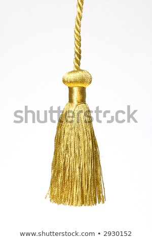 Altın düğüm üst altın mezuniyet beyaz Stok fotoğraf © inxti