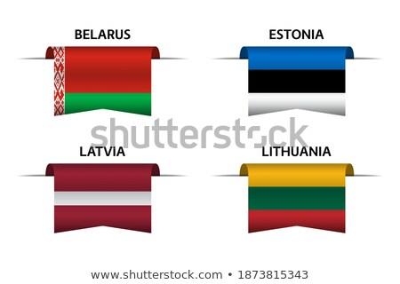 Stok fotoğraf: Ayarlamak · düğmeler · Belarus · parlak · renkli