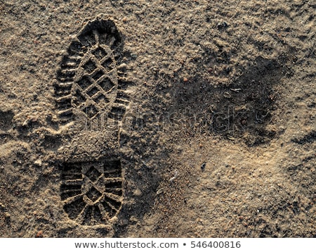abstract footprint background stock photo © boroda