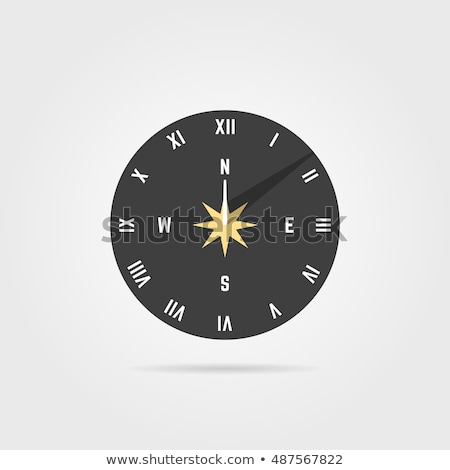 Modern Sun Dial / Solar Clock  Stock photo © Bertl123