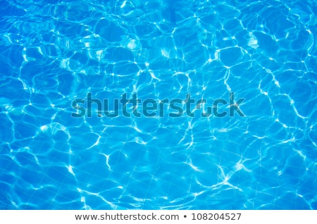 kék · víz · úszómedence · ragyogó · absztrakt · háttér - stock fotó © stockyimages