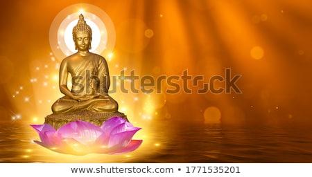 Buda pagoda Myanmar doku sanat Stok fotoğraf © sundaemorning