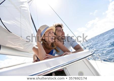 Kabine · innerhalb · Segeln · Meer · Wasser · Mode - stock foto © d13