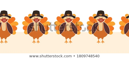 Stock photo: Thanksgiving decorations.