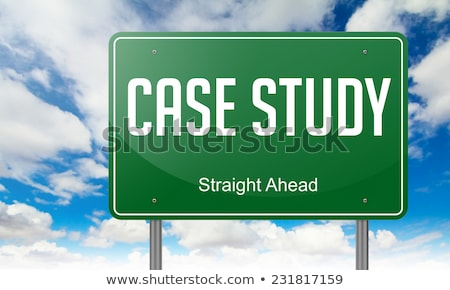 Case Method on Highway Signpost. Stock photo © tashatuvango