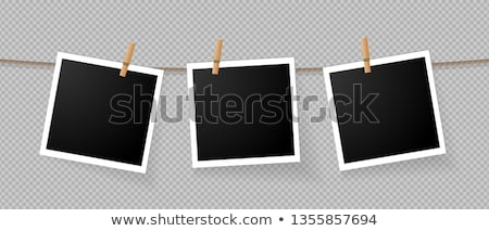 Photo Prints Hanging on a Rope stock photo © BibiDesign