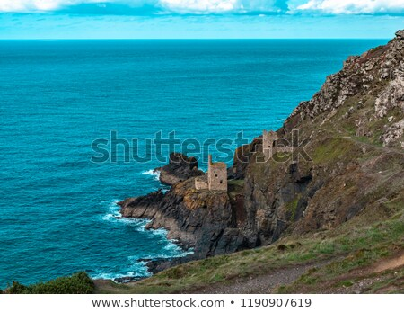 Levant  tin Mine cornwall Stock photo © chris2766