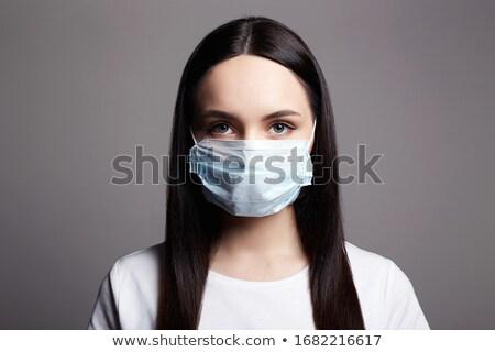 Mulher jovem médico laboratório mulher médico sangue Foto stock © boggy