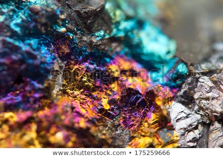 fantastic rainbow mineral metal background Stock photo © jonnysek