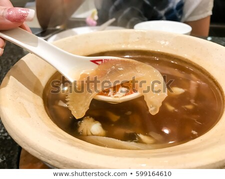 shark fin soup Stock photo © wxin