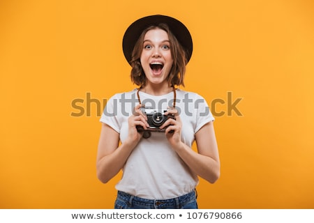 Young Lady in hat stock photo © maros_b