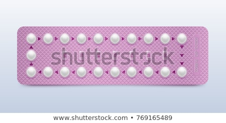 Birth Control Pills And Condom Stock photo © AndreyPopov