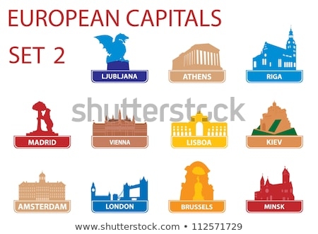 european capital symbols stock photo © saransk